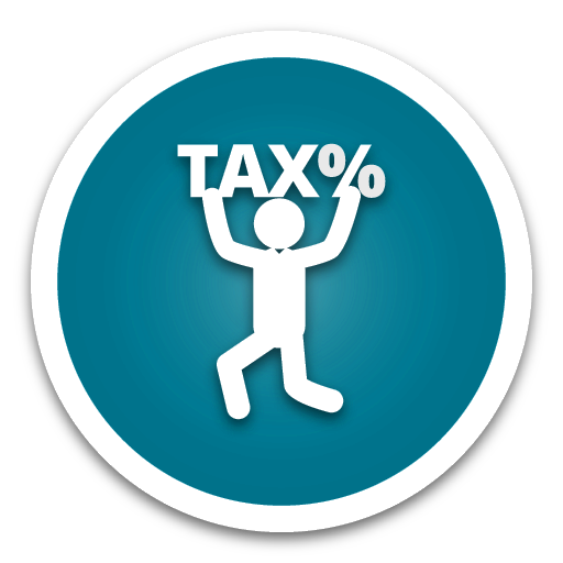63.Tax-Rate Blue Button