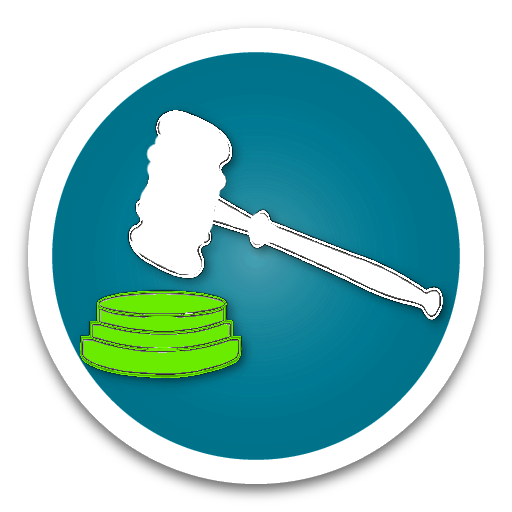 County Attorney Blue Button