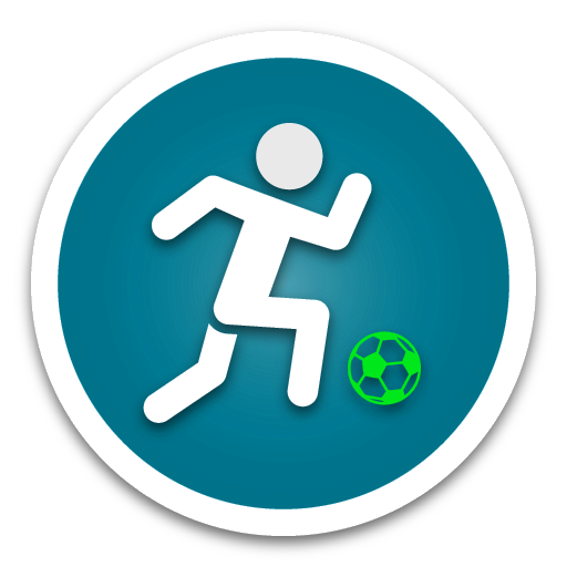 8.Athletics Blue Button
