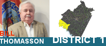 Bill Thomasson District 1 MegaMenu Image with name BLUE1