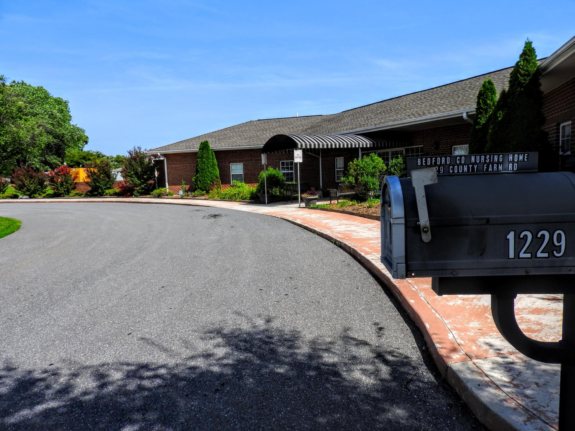 Nursing Home Front Entrance