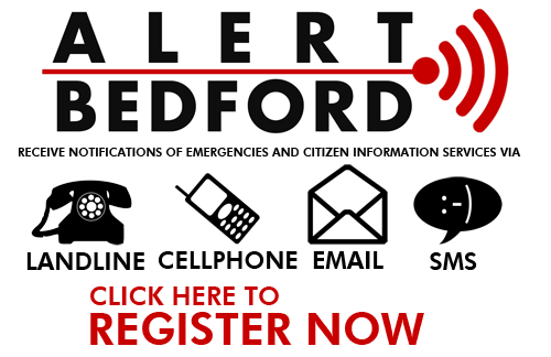 Alerts will also be sent out through Bedford County Sheriff's Office Website Bedford County Sheriff's Office Facebook Bedford County Sheriff's Office Twitter Bedford 911 Website Bedford 911 Facebook Bedford 911 Twitter In order to maximize community awareness of emergency or non-emergency situations. Citizens sign up to receive Emergency Alerts (these are required when you sign up) and non emergency alerts such as : Bedford Water Authority information, Bedford County Landfill information, Crime Awareness, and many other services.