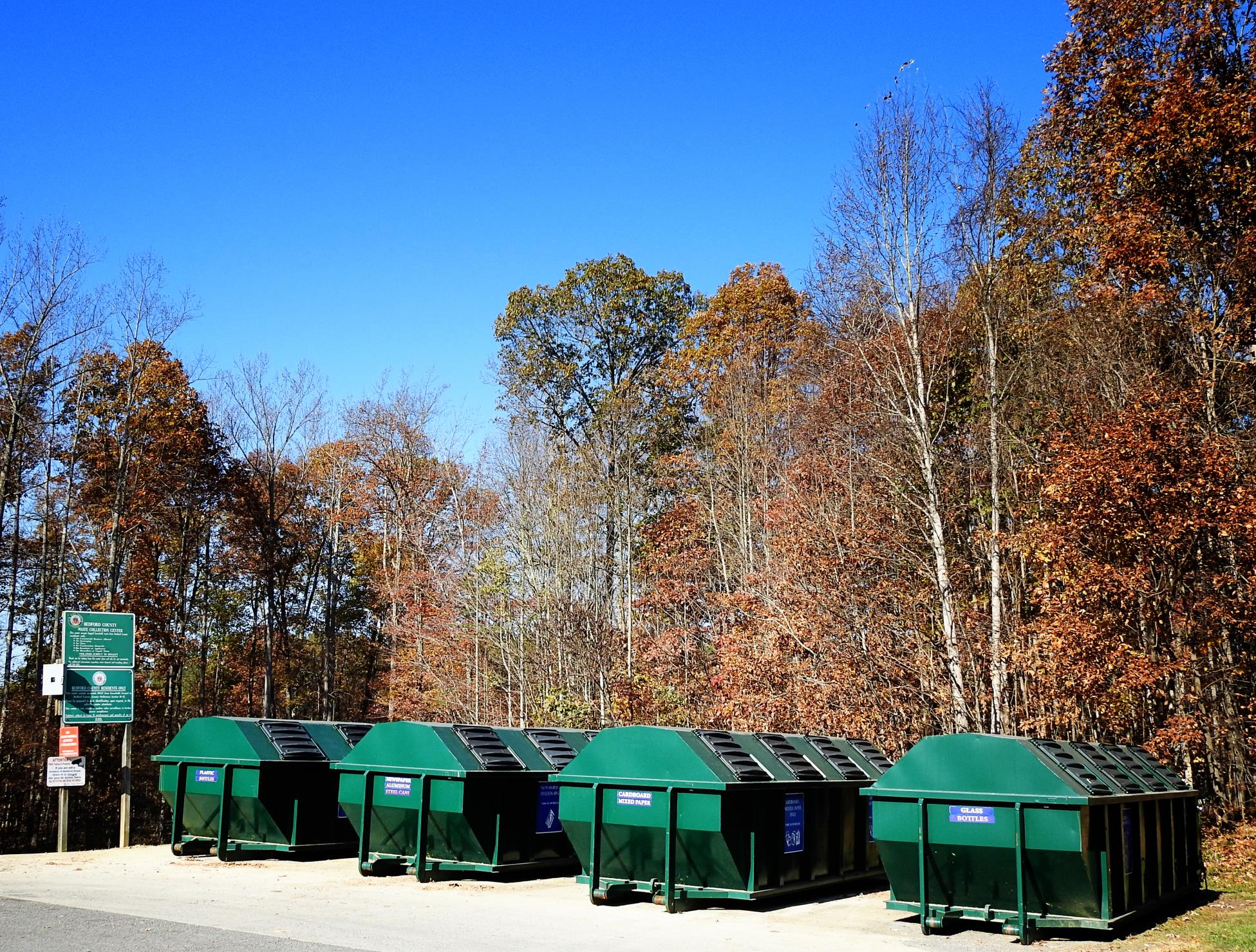 Department of Solid Waste | County of Bedford, Virginia