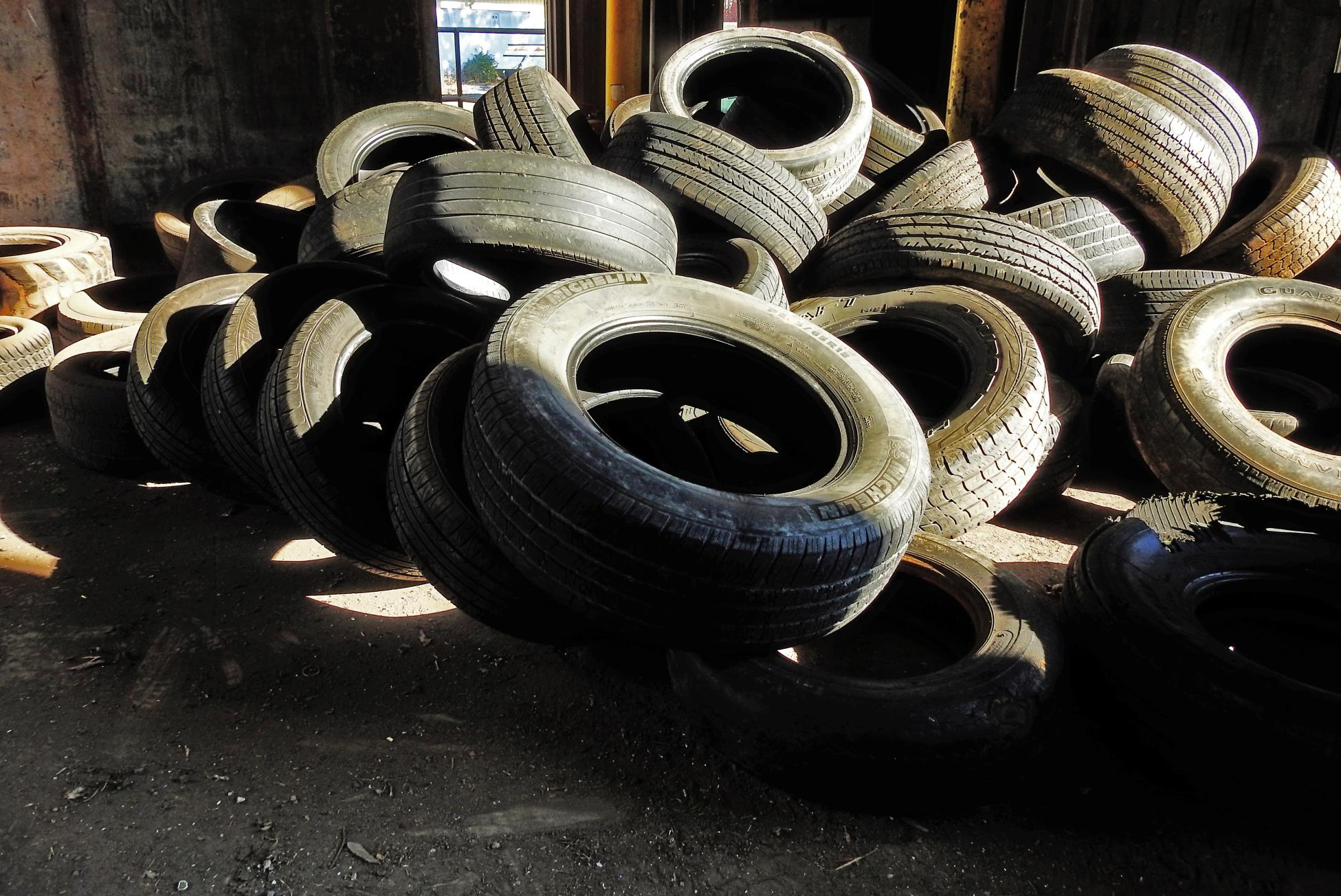 Tires - Before Stacking