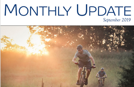 September 2019 Monthly Update